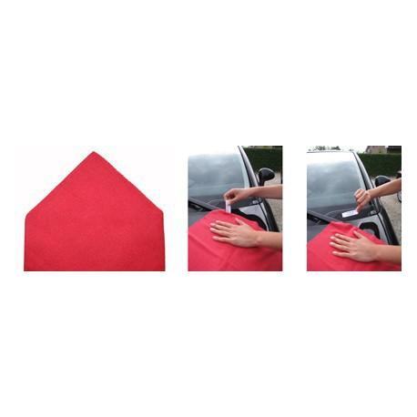 Sachet 5 x ''Tricot Laser'' Pro 38 x 38 cm rouge