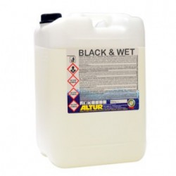 BLACK & WET