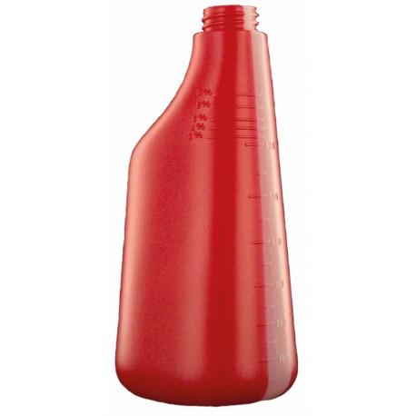 Bouteille polyéthylène 600ml rouge
