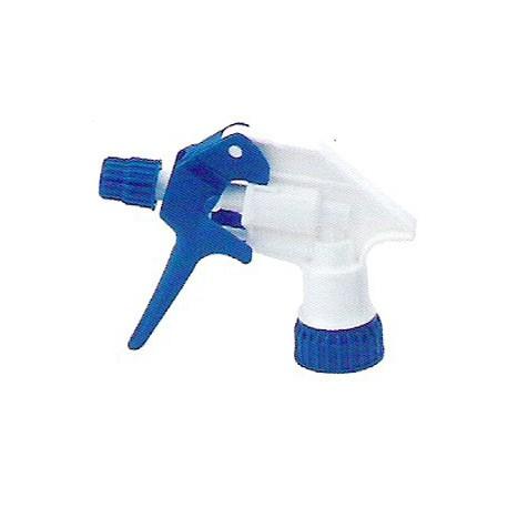 Tête spray Blanc / Bleu avec tube de 17 cm