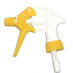Tête pulvérisateur jaune 17 cm